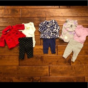 Carter's baby girl winter outfits